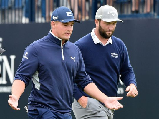 Bryson DeChambeau and Jon Rahm are out of the 2020 Tokyo Olympics