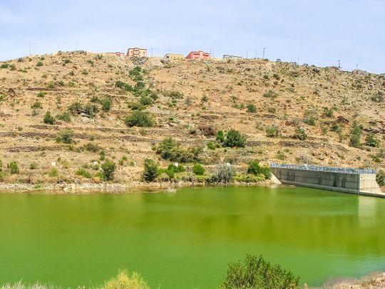 Saudi Arabia water reservoir