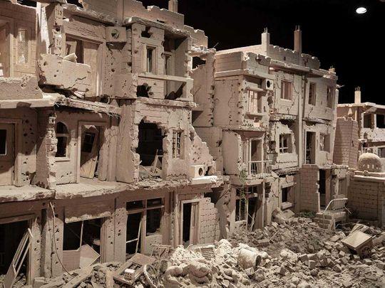 clay syria street artist