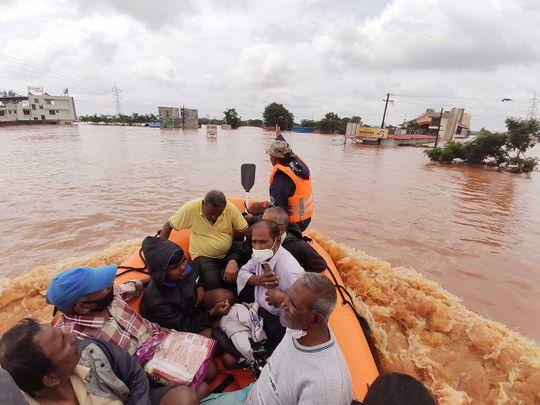 india flood maharashtra