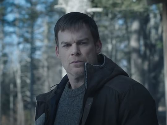 Michael C Hall in the trailer for 'Dexter: New Blood'