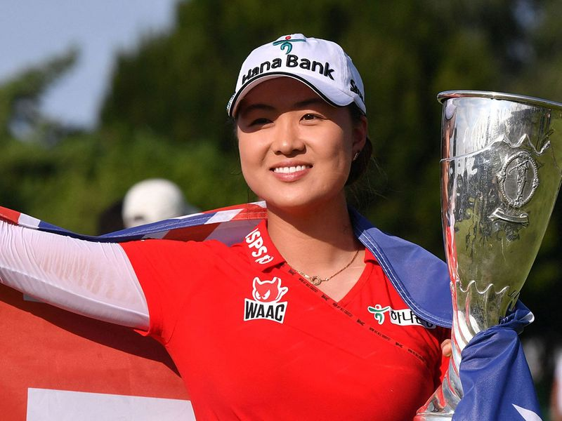 Minjee Lee claimed the Evian title
