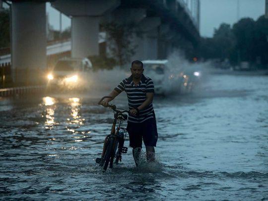 india jammu flood rain monsoon
