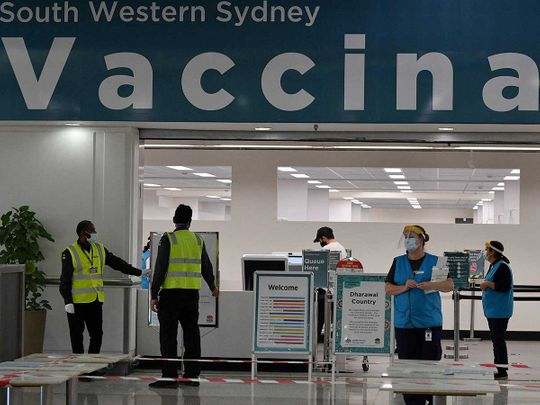 sydney australia covid vaccination