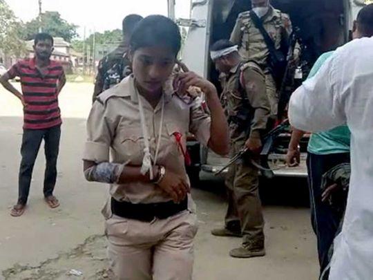Assam Mizoram police clash hospital