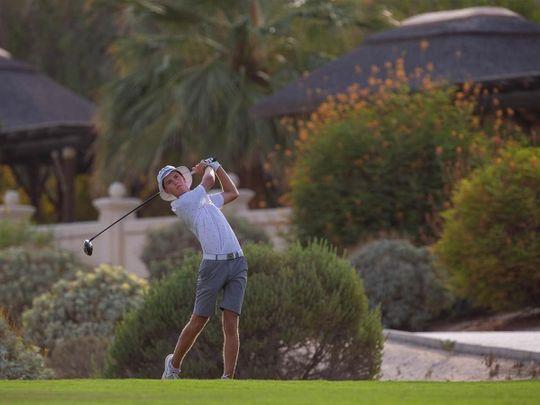 Dubai-based Welsh golfer Toby Bishop