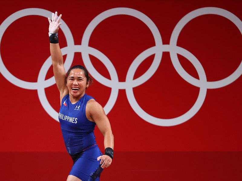 In Pictures: Meet Hidilyn Diaz - the Philippines' first ever Olympic gold medal winner