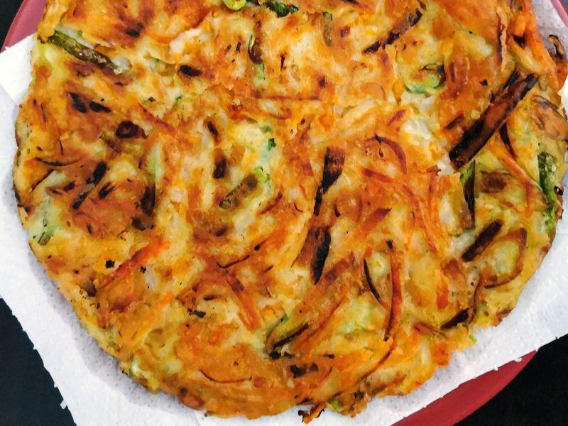 Korean pancake 1