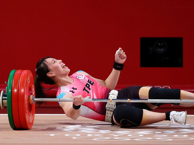Kuo Hsing-Chun won Taiwan's first ever gold