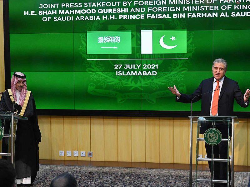 Pakistan and Saudi Arabia to strengthen economic ties
