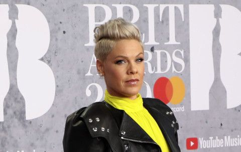 Singer Pink offers to pay Norwegian team's fine for not wearing bikini bottoms
