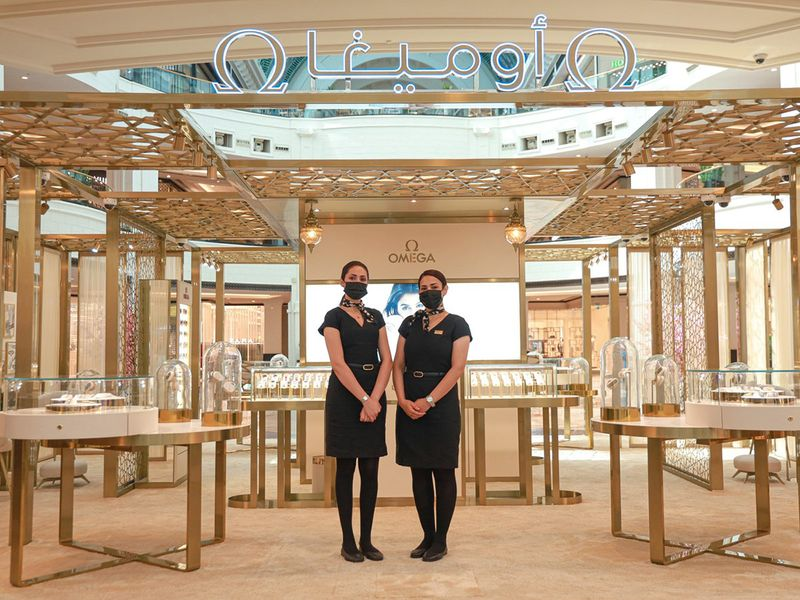 Omega pop-up store does the work for Rivoli Group