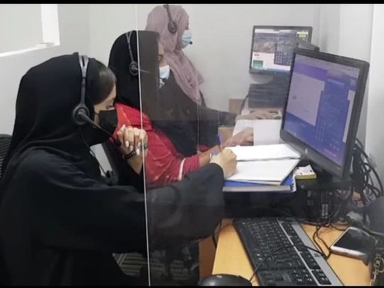 The call centre can respond to 14 calls at a time-1627372498677