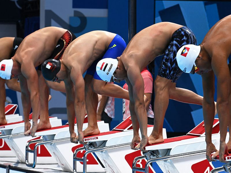 Tokyo Olympics 2020: UAE's Yousef Al Matrooshi takes third spot in 100m freestyle heat