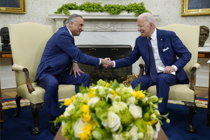 Biden, Al Kadhimi seal deal to end US combat mission in Iraq by year-end