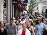 walking britain UK Regent street covid