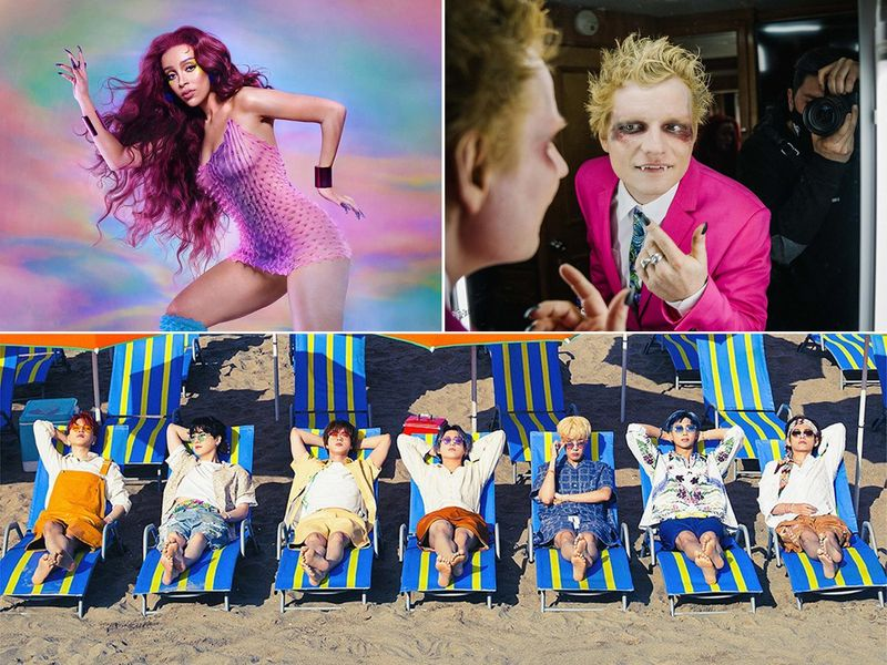 From Ed Sheeran and BTS to Doja Cat: Here are summer's hottest songs