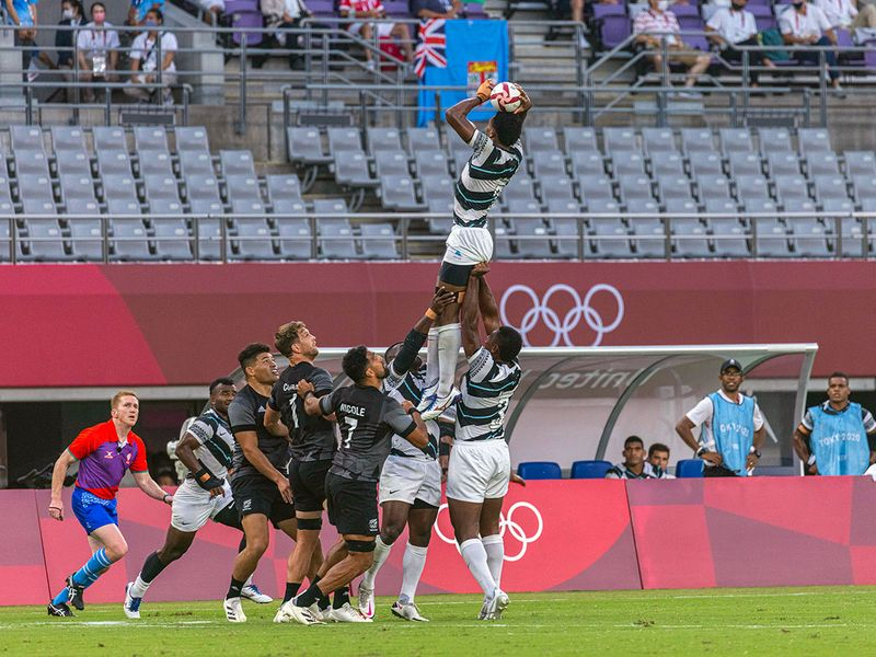 Fiji defeated New Zealand in the Tokyo 2020 Rugby Sevens