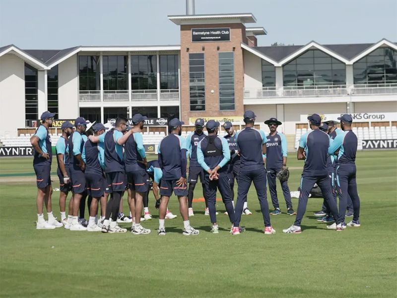 Video: Indian Test team use innovative method to practice catching