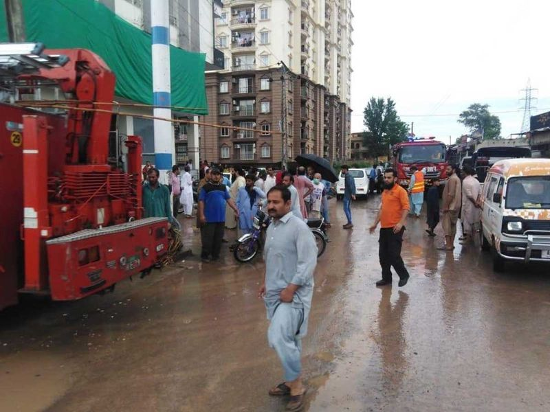 Pakistan: 2 killed as flooding hits parts of Islamabad