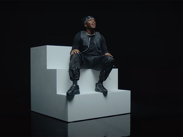 KSI in the video for 'Holiday'