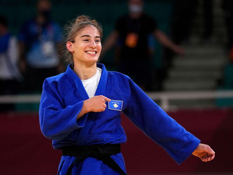 Kosovo's Nora Gjakova wins gold