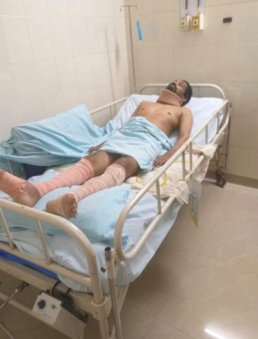 Sijish during his treatment in India-1627480580843