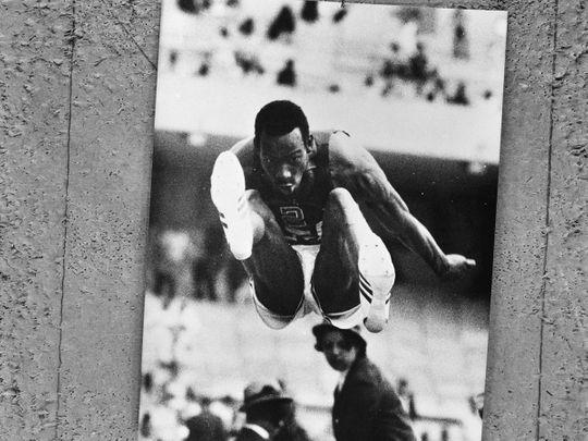 American athlete Bob Beamon