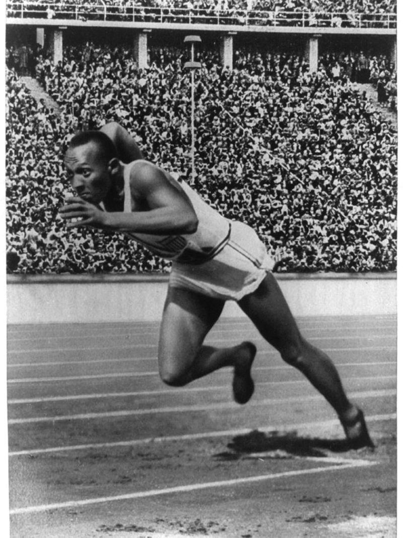 American runner Jesse Owens