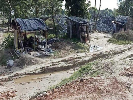 Bihar floods  Narkatiya village in northern Bihar's Sheohar district