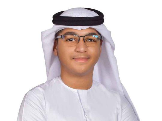 Emirati teen Mayed Al Mer