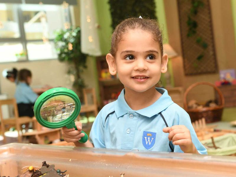 The GEMS Wellington Academy — Silicon Oasis (WSO) Nursery gives children the right start in life