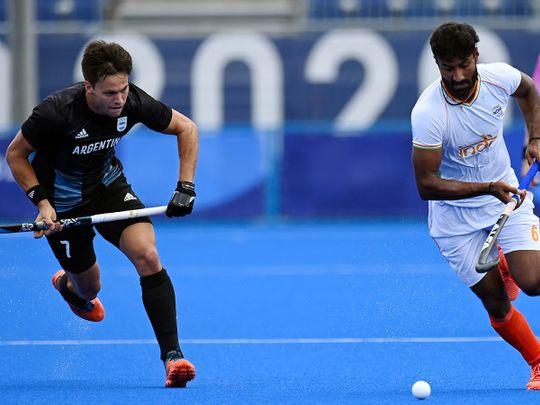 Hockey - India vs Argentina