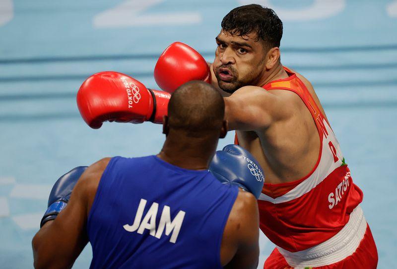 Olympics - Satish Kumar