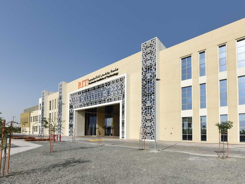 RIT Dubai: Encourage students to experiment with hands-on projects