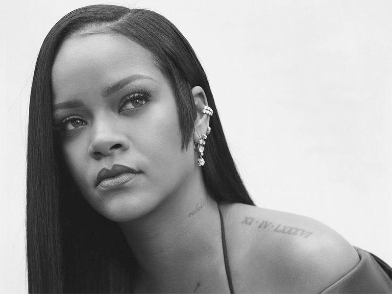 Rihanna teases new fragrance from her brand Fenty Beauty