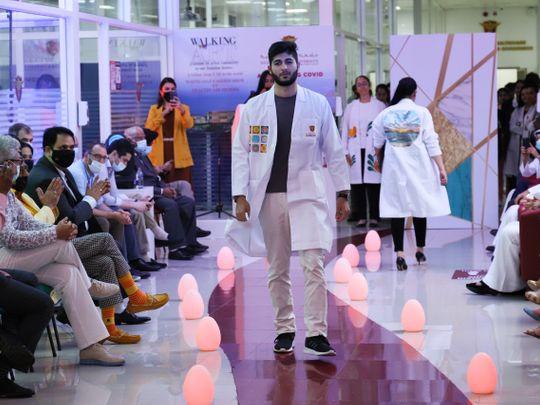 White Coat Fashion Show Pic 1-1627551580278