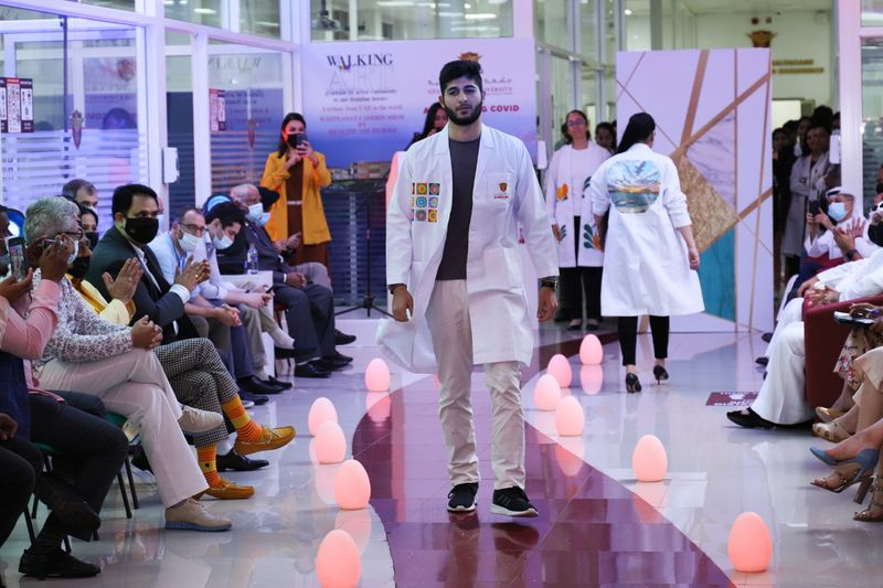 UAE health-care heroes take part in fashion show