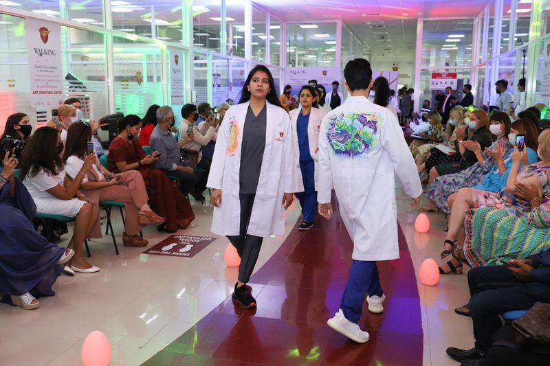 White Coat Fashion Show Pic 2-1627551582315