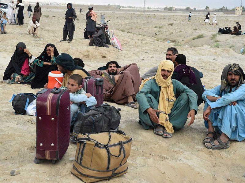 chaman pakistan afghan border