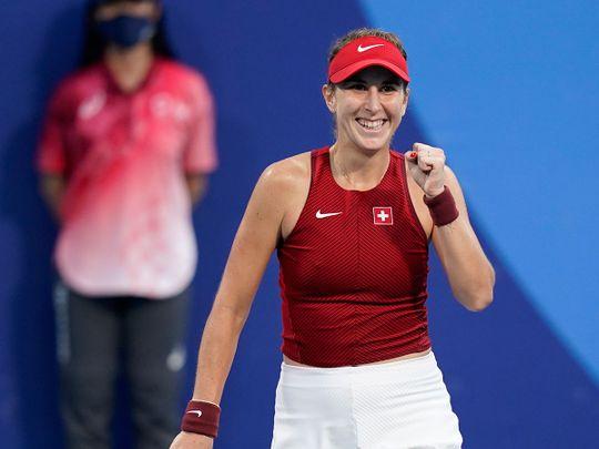 Belinda Bencic claimed tennis gold for Switzerland