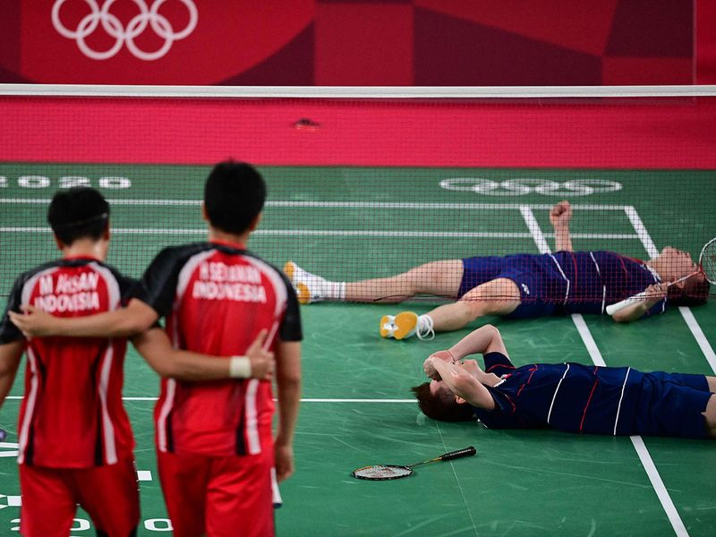Malaysia's Soh Wooi Yik Aaron Chia were too much for Indonesia's Mohammad Ahsan and Hendra Setiawan