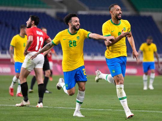 Olympics - Brazil football