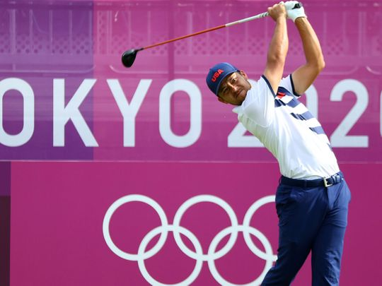 Xander Schauffele leads the way at the Tokyo Olympics