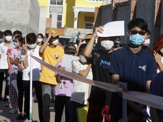 Cambodia vaccine covid