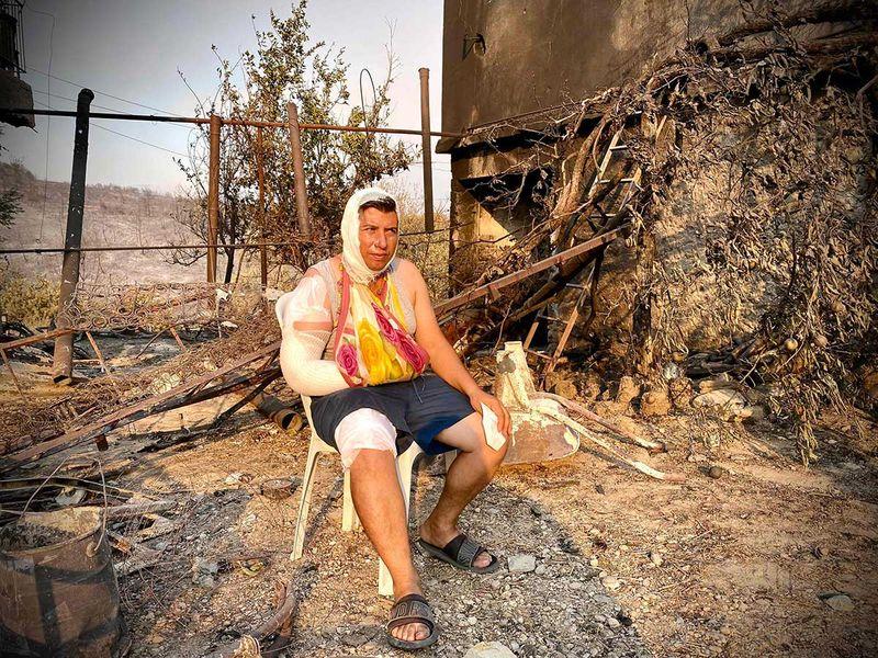 Manavgat Turkey wildfire