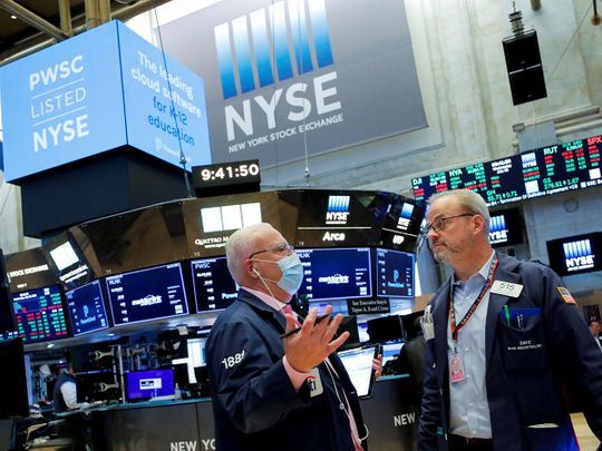 STOCK NYSE traders