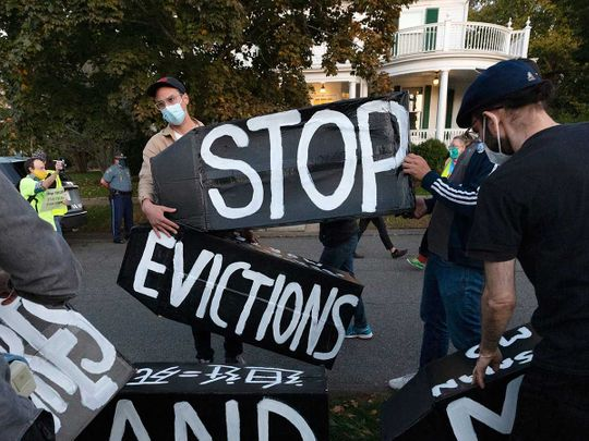 US eviction