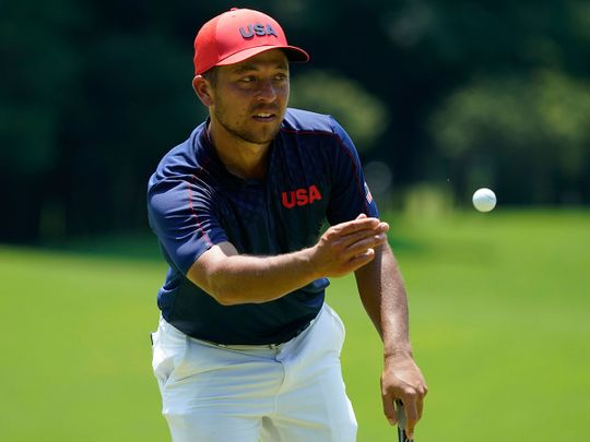 Xander Schauffele wins golf gold in Kawagoe