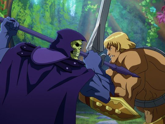 A still from Netflix's 'Masters of the Universe: Revelation'
